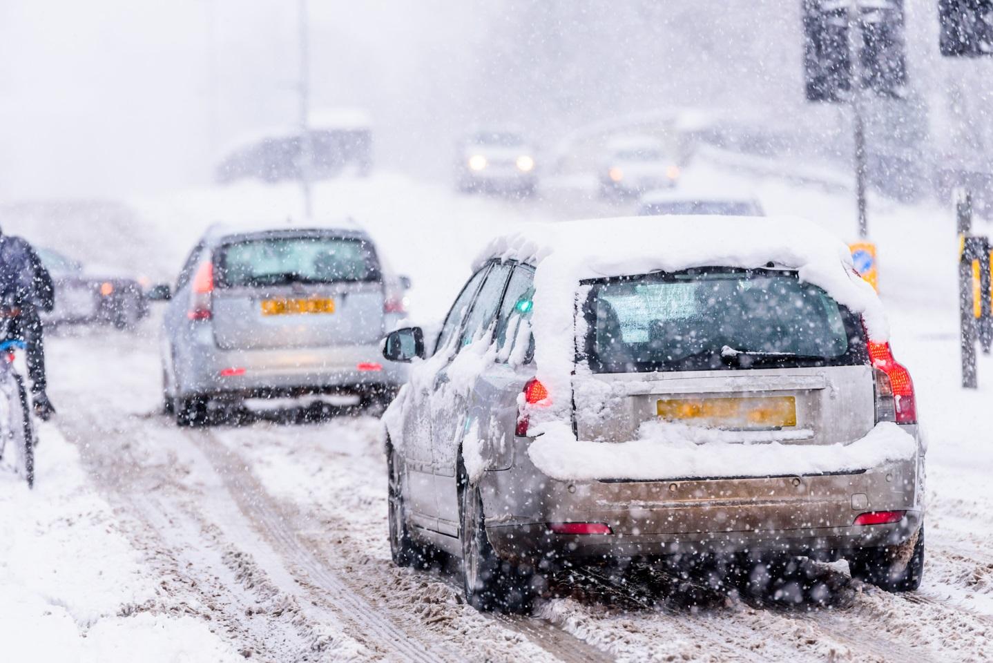 Driving Home For Christmas Snow