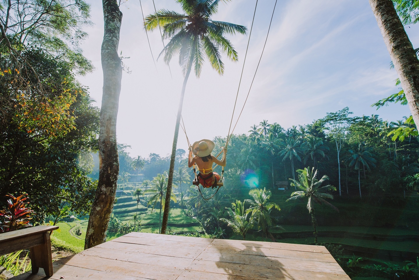 http://Beautiful%20Girl%20Visiting%20The%20Bali%20Rice%20Fields%20In%20Tegalalang,%20Ubud.%20Using%20A%20Swing%20Over%20The%20Jungle.%20Concept%20About%20People,%20Wanderlust%20Traveling%20And%20Tourism%20Lifestyle