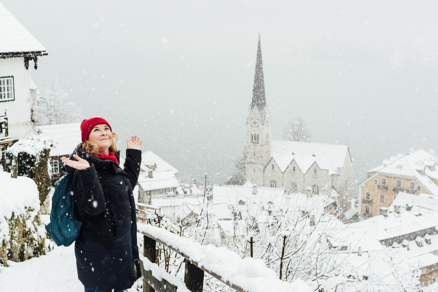 The Most Festive Places In Europe Hallstatt